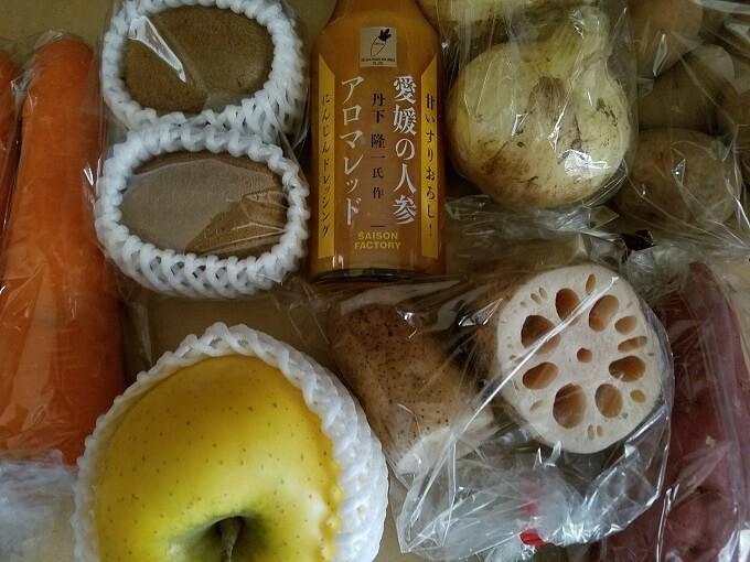 デリカフーズHD(3392)の株主優待:こだわり野菜・果物の詰め合わせ1500円相当