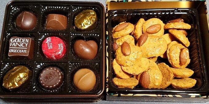 マルカ キカイ(7594)の株主優待:モロゾフのチョコレートとクッキー(アルカディア
