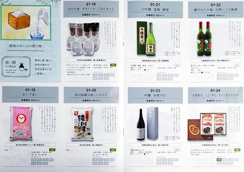 百十四銀行(8386)の株主優待カタログ2020年