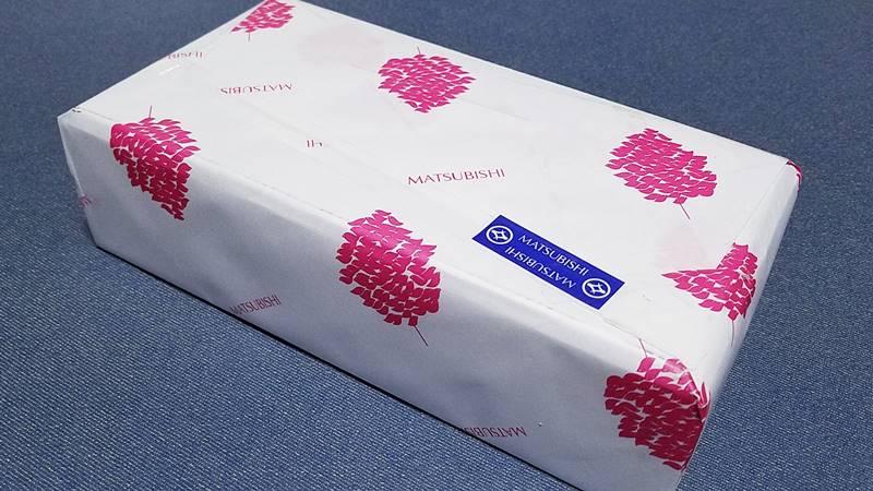 三重県津市の百貨店の松菱百貨店の包装紙