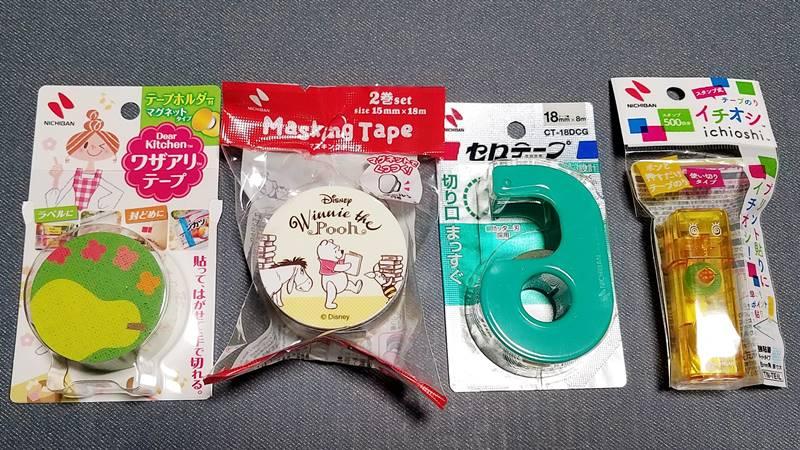 ニチバン(4218)の株主優待 3,000円相当の自社新製品を中心とした製品詰め合わせ