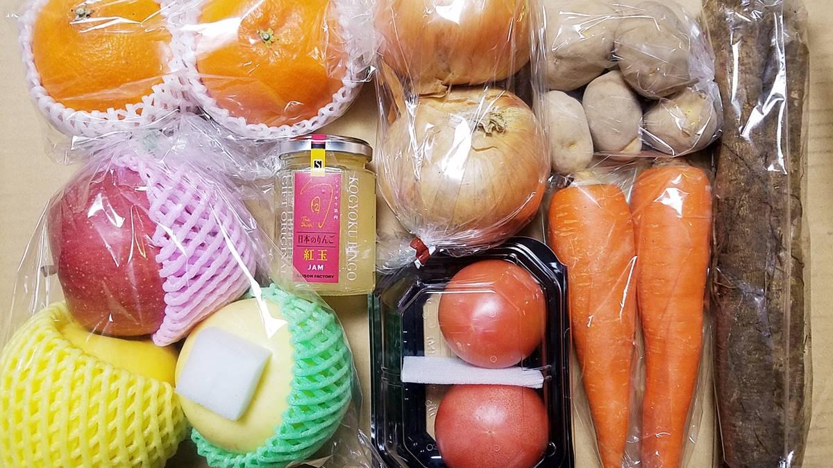 デリカフーズホールディングス(3392)の株主優待 4,000円相当のこだわり野菜・果物・加工品の詰合せ